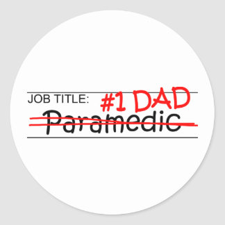 Job Dad Paramedic Sticker