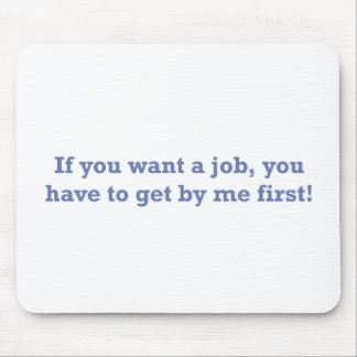 Job / First Mouse Pad
