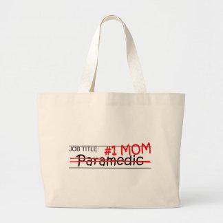 Job Mom Paramedic Canvas Bag