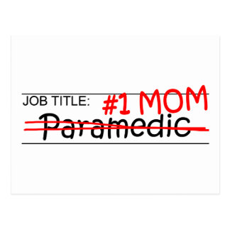 Job Mom Paramedic Postcards