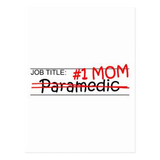 Job Mom Paramedic Postcard