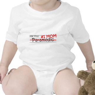 Job Mom Paramedic Rompers