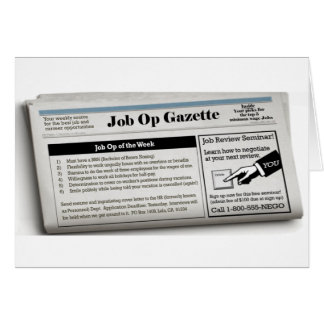 Job Op Card