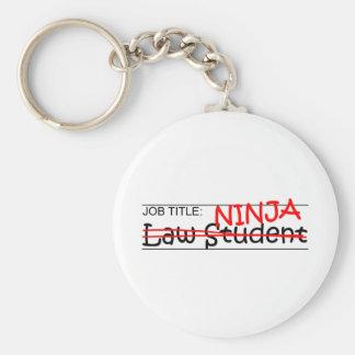 Job Title Law Student Keychain