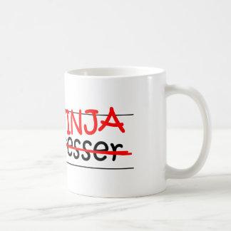 Job Title Ninja - Hairdresser Basic White Mug
