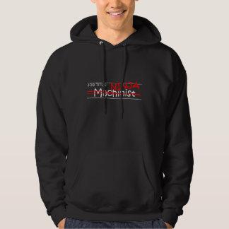Job Title Ninja - Machinist Hoodie