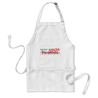 Job Title Ninja - Paramedic Apron