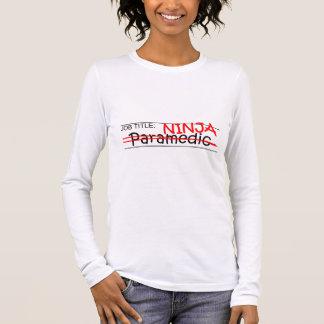 Job Title Ninja - Paramedic Long Sleeve T-Shirt