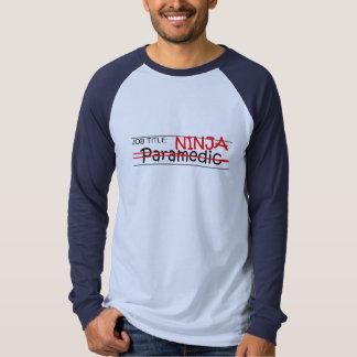 Job Title Ninja - Paramedic T-shirt