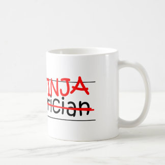 Job Title Ninja - Pediatrician Coffee Mug