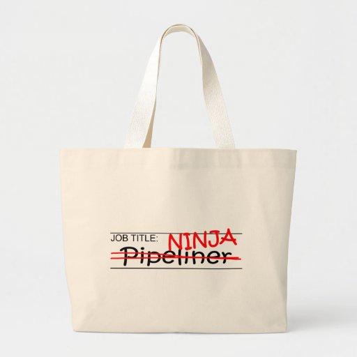 Job Title Ninja - Pipeliner Tote Bag