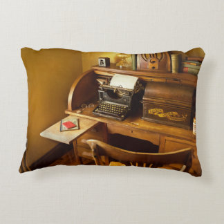 Job - Typist - A person with many interests Decorative Pillow