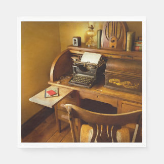 Job - Typist - A person with many interests Disposable Napkin