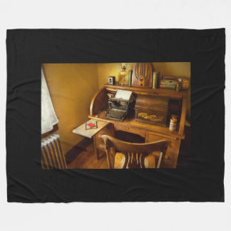 Job - Typist - A person with many interests Fleece Blanket