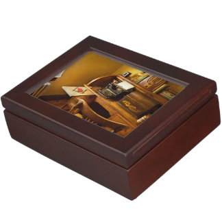 Job - Typist - A person with many interests Keepsake Box