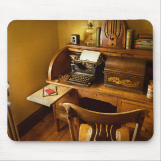 Job - Typist - A person with many interests Mouse Pad