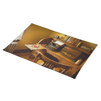 Job - Typist - A person with many interests Placemat