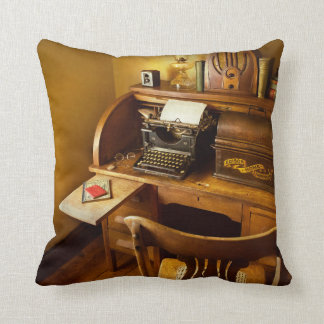 Job - Typist - A person with many interests Throw Pillow