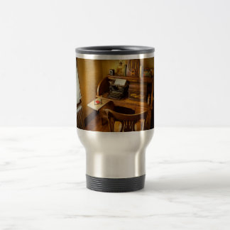 Job - Typist - A person with many interests Travel Mug