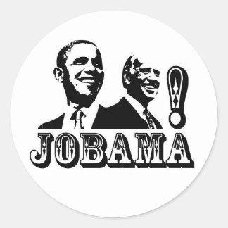 JOBAMA! ROUND STICKER