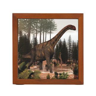 Jobaria dinosaur - 3D render Desk Organizer