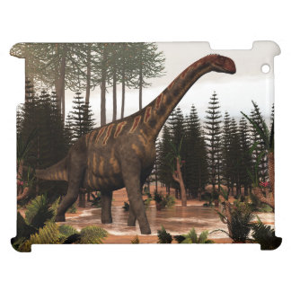 Jobaria dinosaur - 3D render iPad Cases