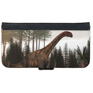 Jobaria dinosaur - 3D render iPhone 6 Wallet Case