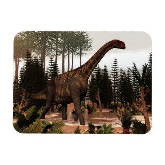 Jobaria dinosaur - 3D render Magnet
