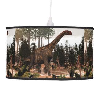 Jobaria dinosaur - 3D render Pendant Lamp