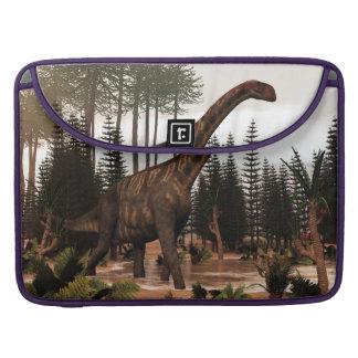 Jobaria dinosaur - 3D render Sleeve For MacBook Pro