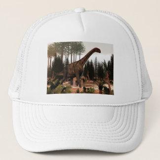 Jobaria dinosaur - 3D render Trucker Hat