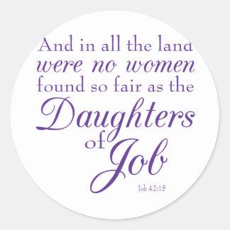 Job's Daughters Stickers