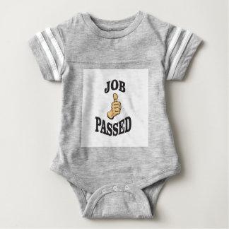 jobs up thumb funs baby bodysuit