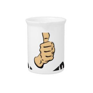 jobs up thumb funs pitcher