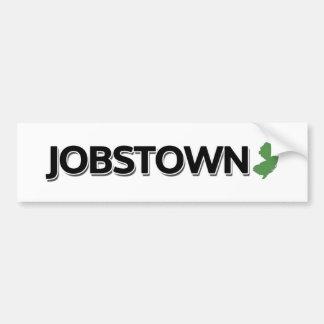 Jobstown, New Jersey Bumper Sticker