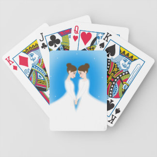Jocelyn and Jasmine Bicycle Playing Cards