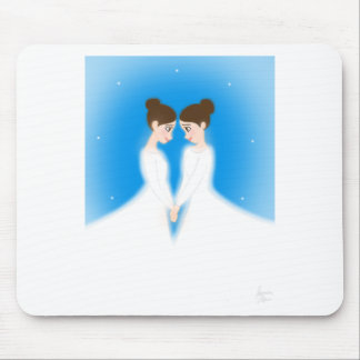 Jocelyn and Jasmine Mouse Pad