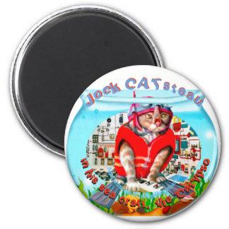 """Jock 'CAT'steau"" Magnet"