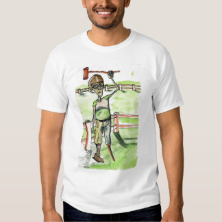 Jockey de jambe de cheville t shirts