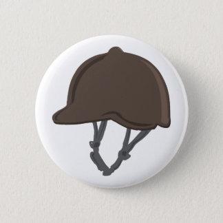 Jockey Helmet 2 Inch Round Button