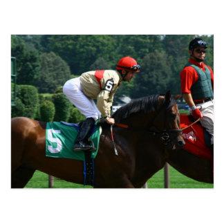 jockey postcard