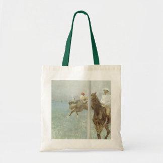 Jockeys Before the Race by Edgar Degas
