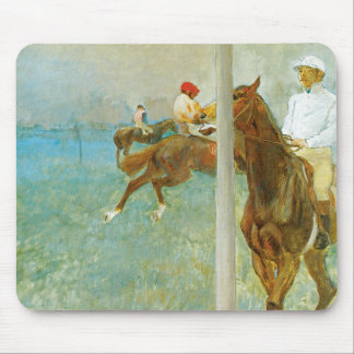 Jockeys Before The Race Mouse Pad