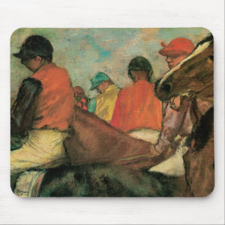 Jockeys by Degas Mouse Pad
