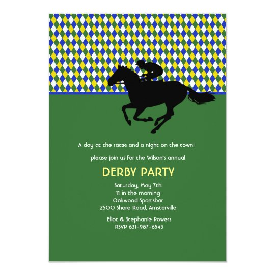 Jockey's Pride Emerald Invitation