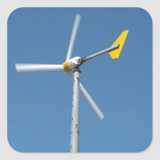 Jockeys Ridge State Park Windmill Square Sticker