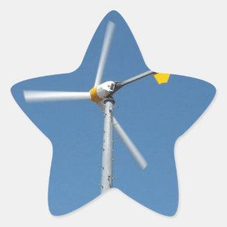 Jockeys Ridge State Park Windmill Star Sticker