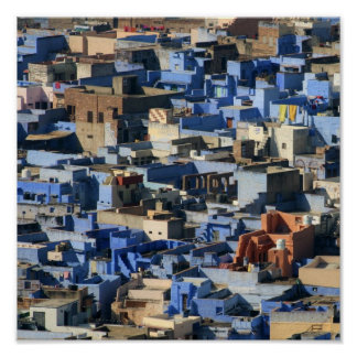 Jodhpur - Blue City Poster