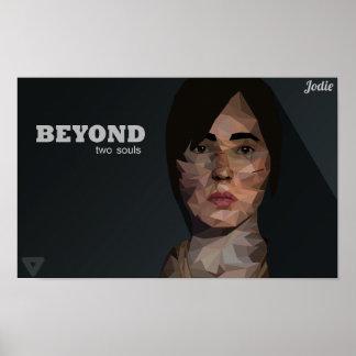 Jodie-Beyond two souls PolygonArt Poster