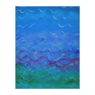 Jodi's Original Water Painting Canvas Print